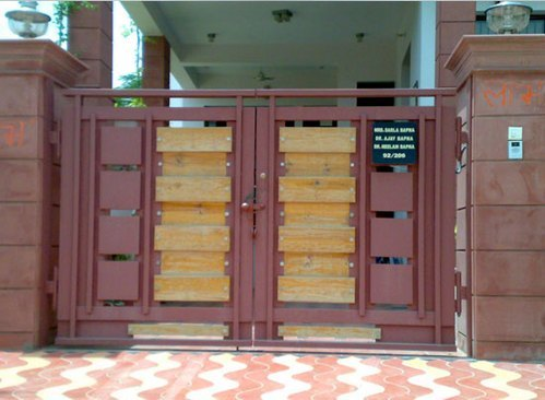 metallic main gates designer main gate manufacturer from mumbai rh indiamart com indian house entrance gate designs indian house entrance door designs