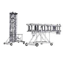 Tilting Telescopic Tower Ladder