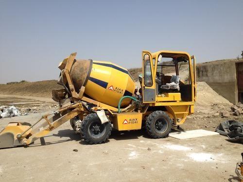 Self Loading Concrete Mixer On Rent Service Provider from DausaSelf Loading Concrete Mixer On Rent