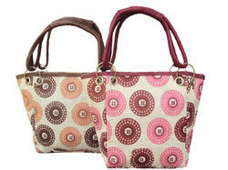 jute printed hand bags for return gifts