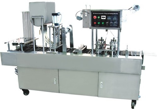 Jelly, Juice Filling Sealing Machine