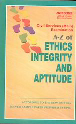 A-Z of Ethics Integrity And Aptitude - Book