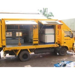 Mobile Work Shop Container