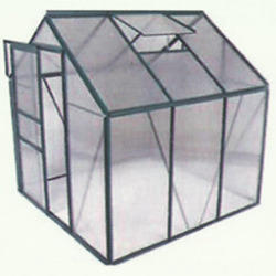 Polycarbonate Glass Greenhouse