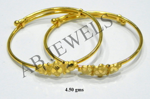 Plain Gold Bangles Plain Gold Bangles Sets Manufacturer from New Delhi