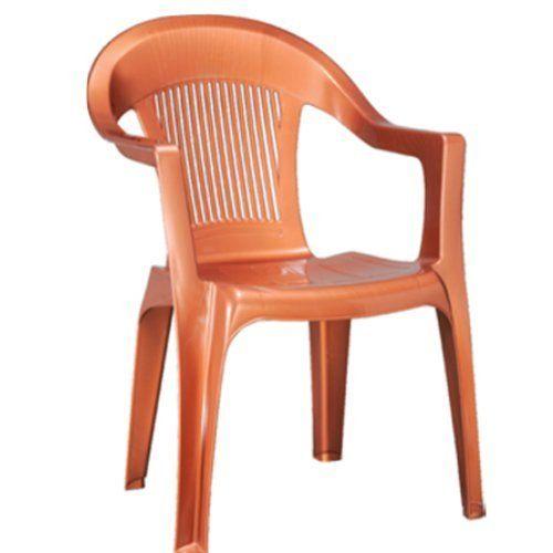 Etonnant Plastic High Back Arm Rest Chair