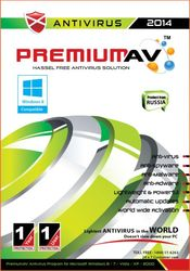 Premium AV Antivirus 2014 - 1 User 1 Year