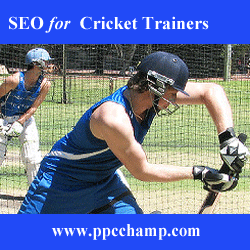 Online Marketing for  Cricket Trainers