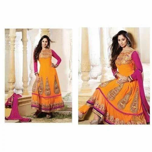 Bandhani Anarkali Suits Designer Bandhani Anarkali Suit
