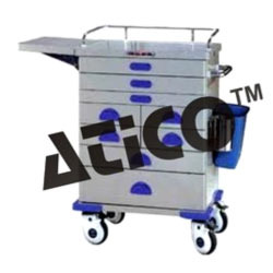 s s anesthesia trolley