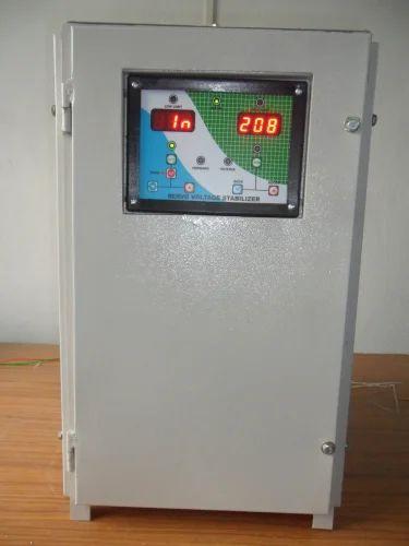 Single Phase Servo Controlled Voltage Stabilizer