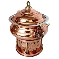 Ornamental Copper Hyatt Handi Chafing Dish