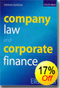 Company Law & Corporate Finance Book
