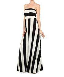 Black and White HV Stripe Dress