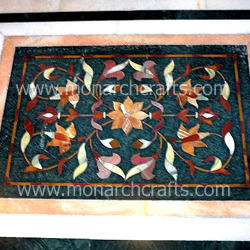 Stone Inlay Patterns For Floors.
