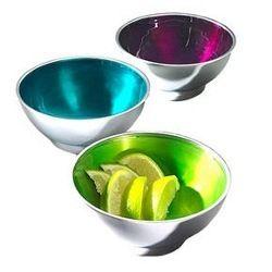 Aluminium Salad Bowls