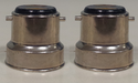 Two Pin Metal Cap for Bulbs
