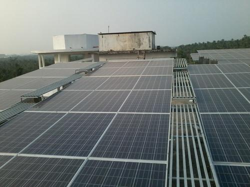 Flat Rooftop Solar Panel Mounting Structure