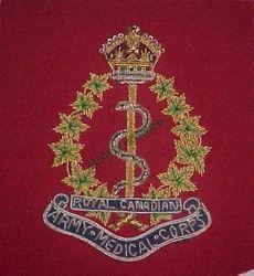 Royal Army Canadian Medical Corps Badge