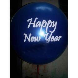 printed rubber balloon