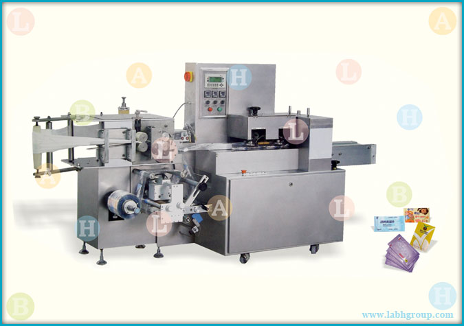 Automatic Horizontal Wet Tissue Paper Packaging Equipment