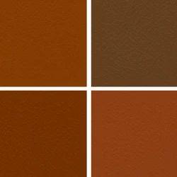 Tan Manmade Leather Cloth