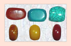 Carved Resin Beads