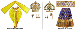 Radha Krishna Idol Accessories