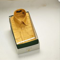 Light Golden Silk Shirts