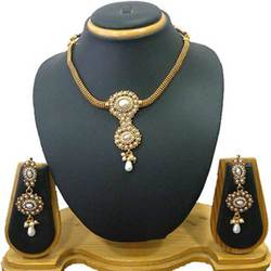 Gold Plated Jewelry Necklace Set