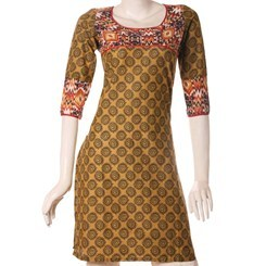 Printed+Cotton+Kurta