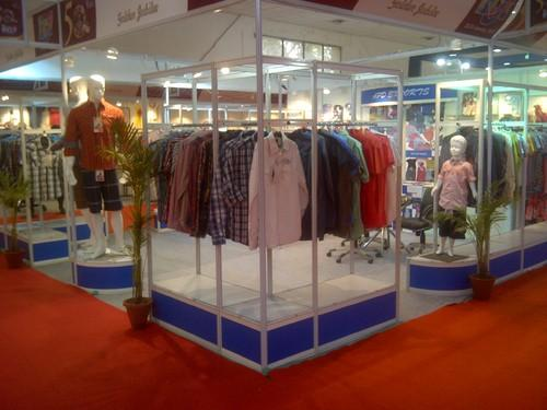 Exhibition Stall Design For Garments : Exhibition stalls designing fabrication and decoration modular