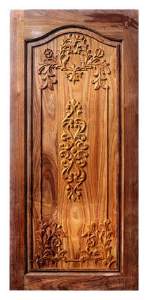 Engraved carved wooden doors avanti exim exporter in for Door design cnc