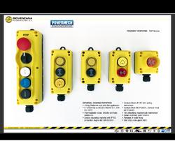 Pendant Control Station Push Button Switch