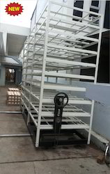 Tissue Culture Rack ( Mobile Type) for large cap.