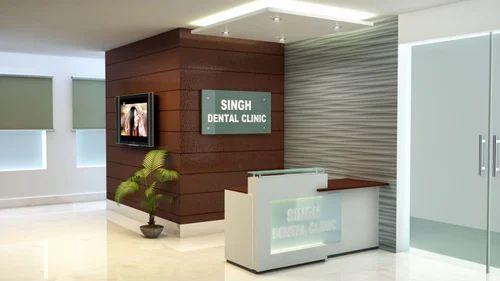 Interior Designer Dental Clinic Room In Vaishali Sector 3