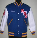 Bright Royal Varsity Jacket