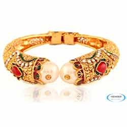 Wedding Fashion Brass Bangle