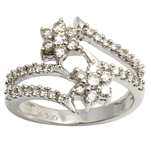 Real Diamond Engagement Rings At Rs 45000 Piece Diamond