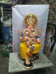 lord ganesha fiberglass statue