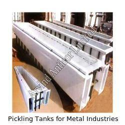pickling tank for metal industries