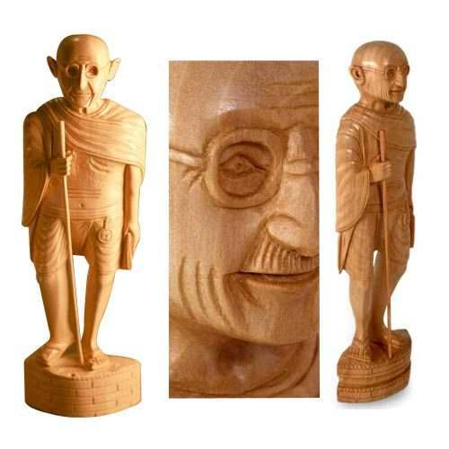Carved Wooden Statues