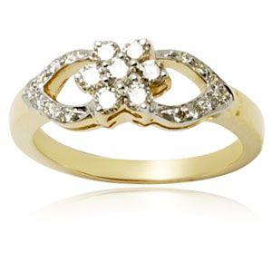 Diamond Gold Jewelry Rings,Pave Setting Diamond Ring