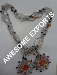 Neckline Embroidery Necklace