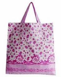 Printed  Pink Calico Bag
