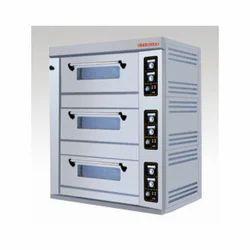 Gas Three Deck Oven