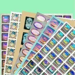 Over Printing Hologram Label