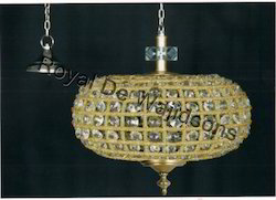 decor hanging crystal lamp