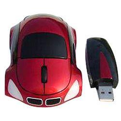 Wireless Mouses Car Shape