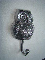 Metal Owl Coat Hook